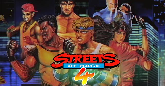 Streets of Rage 4 (Switch) recebe trailer mostrando personagens desbloqueáveis com visual retrô