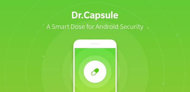 تنزيل Dr.Capsule - Antivirus Cleaner Booster  تطبيق حماية و أمان قوي لنظام الاندرويد