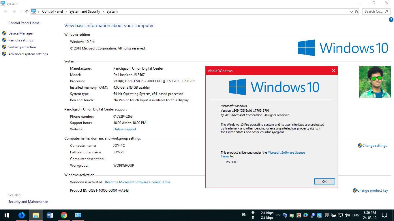 OS-Windows 10 Version 1809 ISO Download - JahidcSE