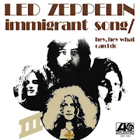 """Το single των Led Zeppelin """"Immigrant Song"""""""