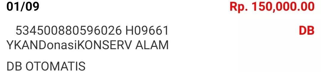 Donasi September 2021 Android31 PPOB STORE dan Bad Rabbit Merch