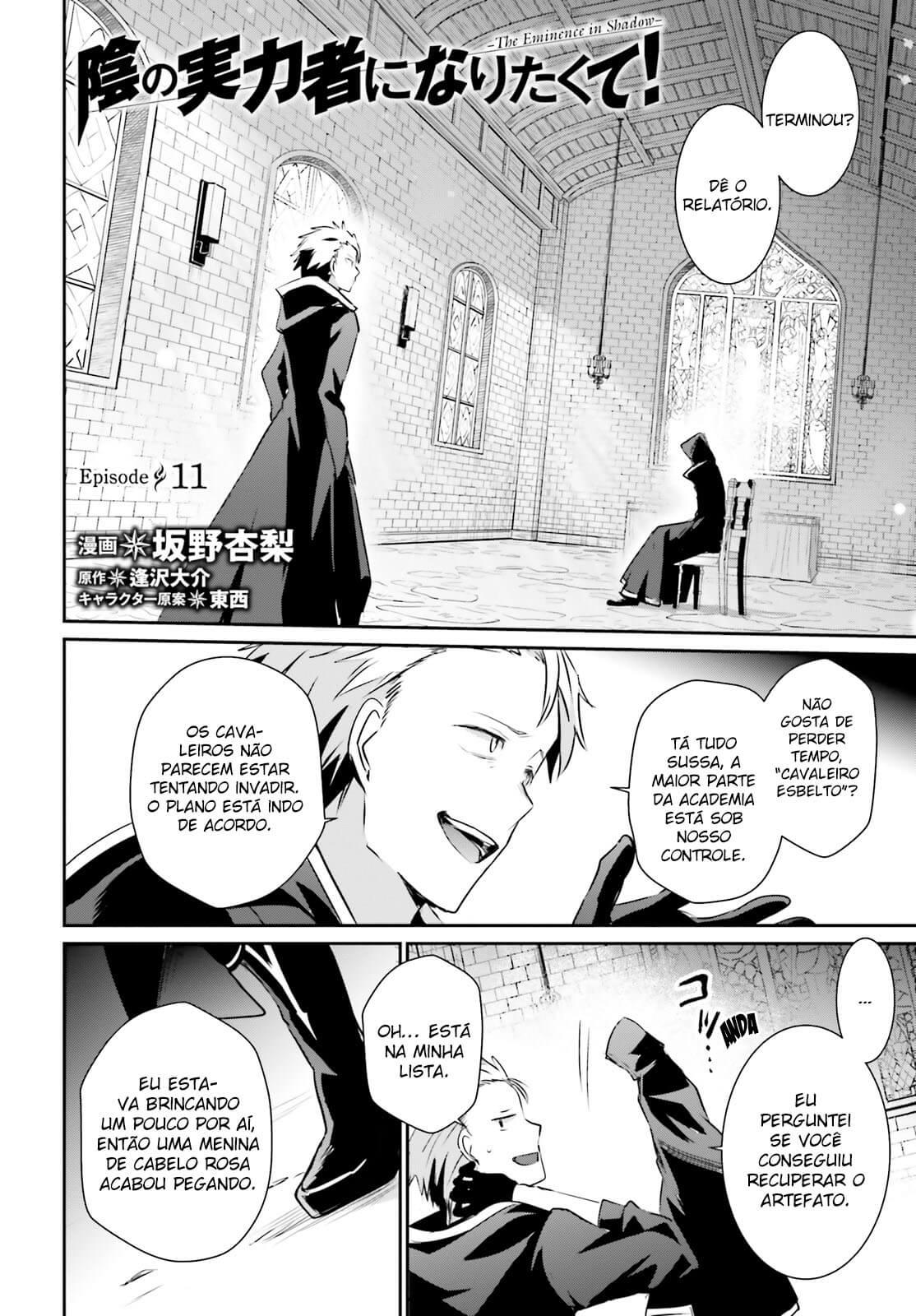 Kage no Jitsuryokusha ni Naritakute / The Eminence In Shadow Mangá Online Capítulo 11
