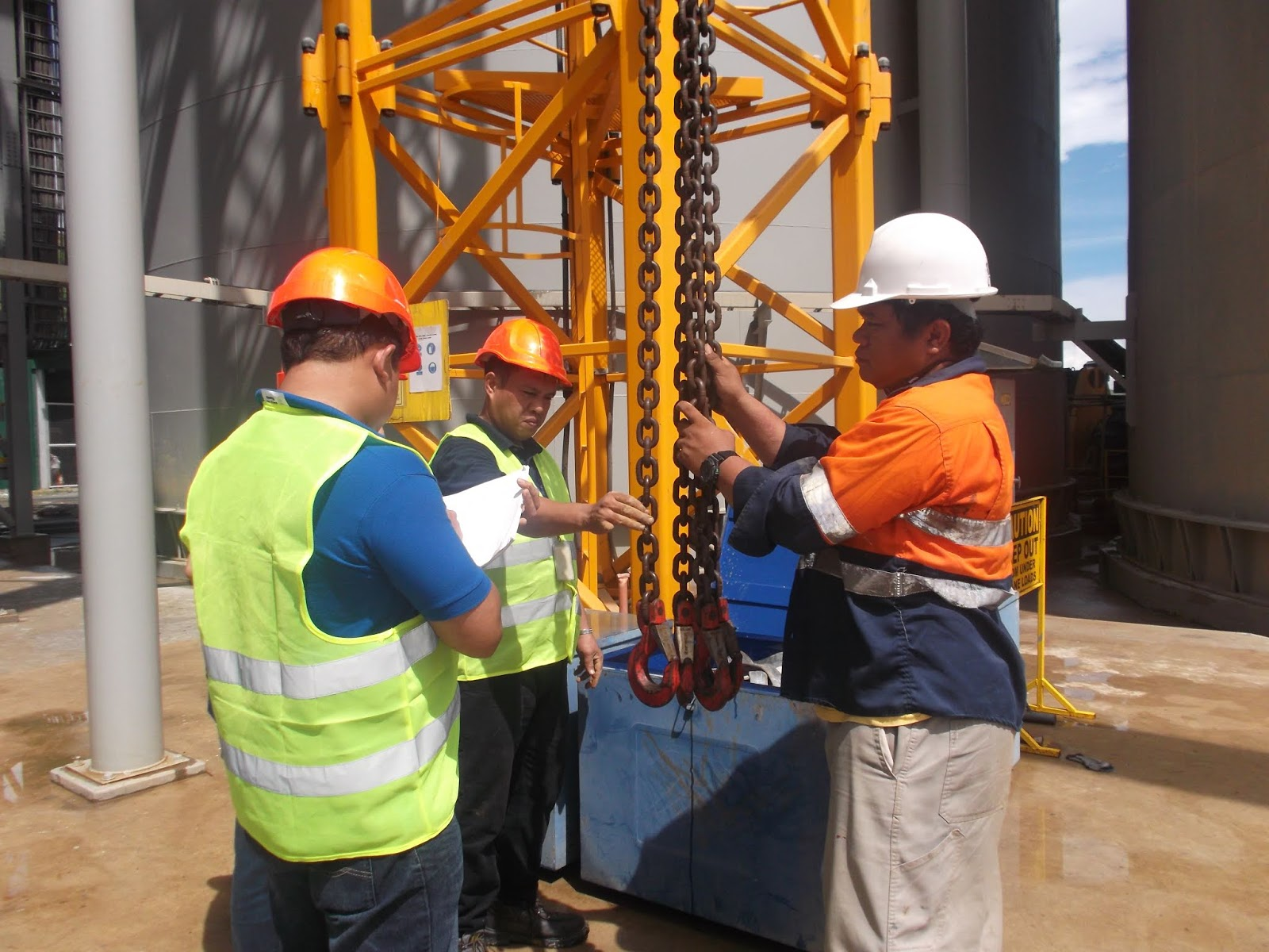 Chain Inspection Techpro Philippines Inc
