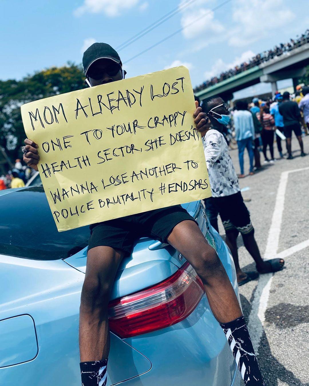 'We need justice': Nigerians to keep up #EndSARS pressure