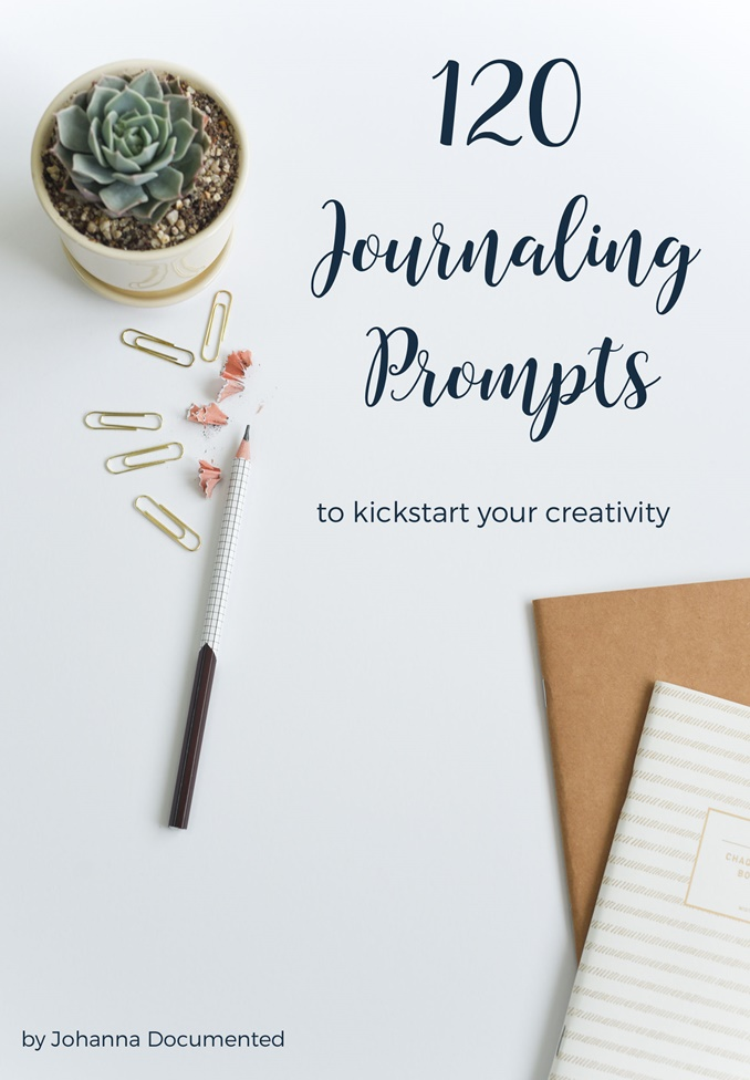 Journaling Prompts to help you kickstart your creativity - these really made me think! by Johanna Documented