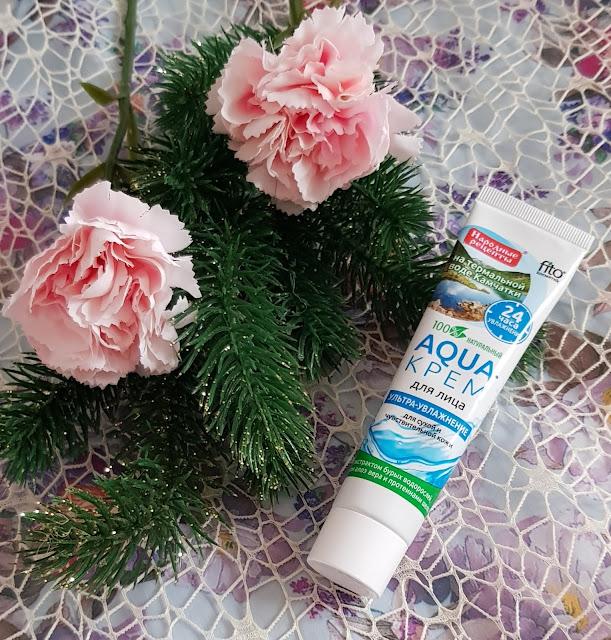 Fitokosmetik aqua krem do twarzy ultra nawilżenie do cery suchej i wrażliwej