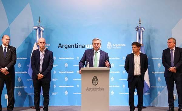 Fernández extendería la cuarentena con apertura del comercio y la industria   La Comuna de Roca