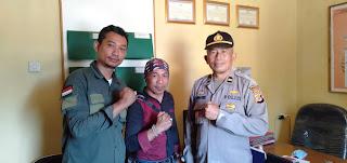 Silaturahmi Media MPGI News Kapolsek Curug Kembar