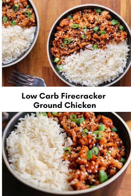 Low Carb Firecracker Ground Chicken