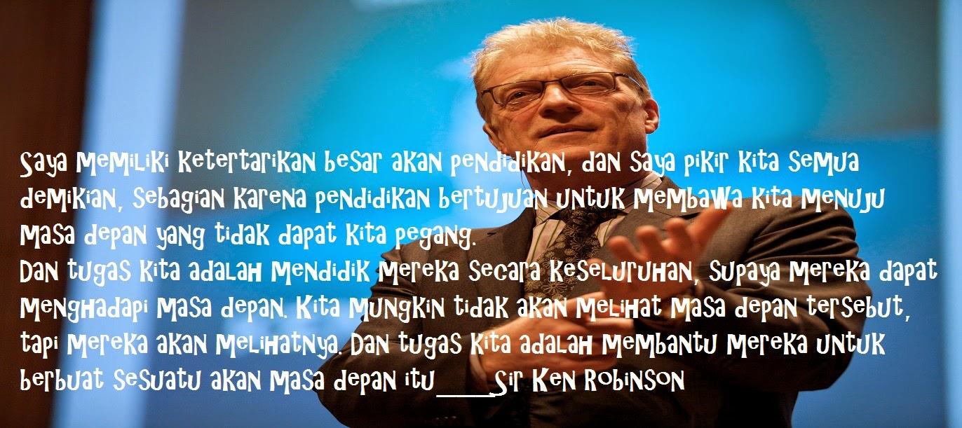 Ken Robinson: Bagaimana Sekolah Membunuh Kreativitas