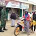 Sertu Kiswantoro Terus Laksanakan Himbauan Protokol Kesehatan Kepada Warga Masyarakat