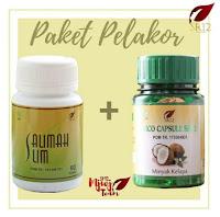 Paket Pelangsing Sehat BPOM Salimah Slim dan Vco Peluruh Lemak Kotor Diet Ampuh Aman Alami