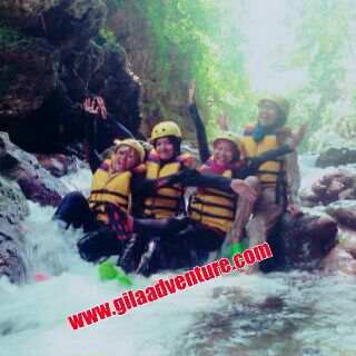Body Rafting di Green Canyong