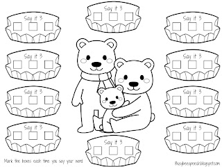 snow bears coloring pages - photo#19