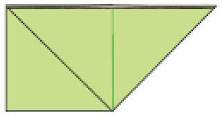 Bước 4: Làm tương tự như bước 3 với mặt đằng sau tờ giấy