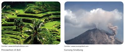gambar gunung bali dan gunung sinabung www.simplenews.me