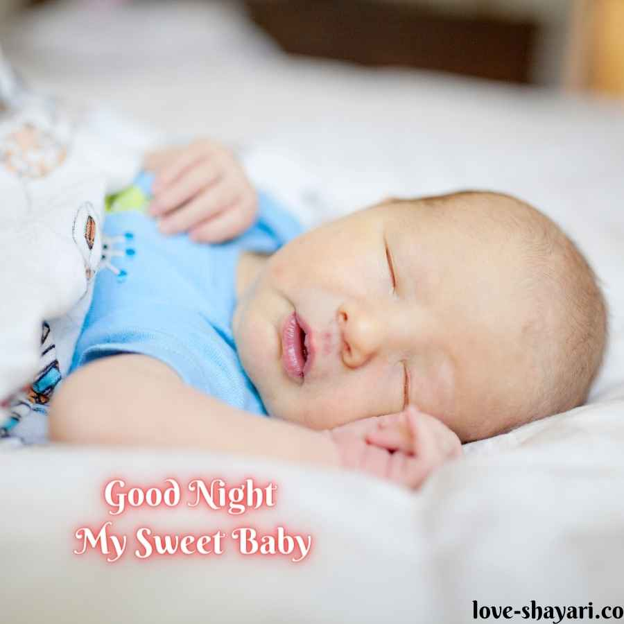 good night baby images download