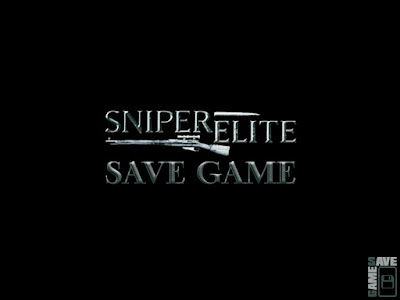 sniper elite save game pc