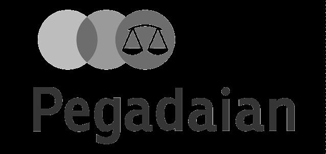 logo pegadaian hitam putih