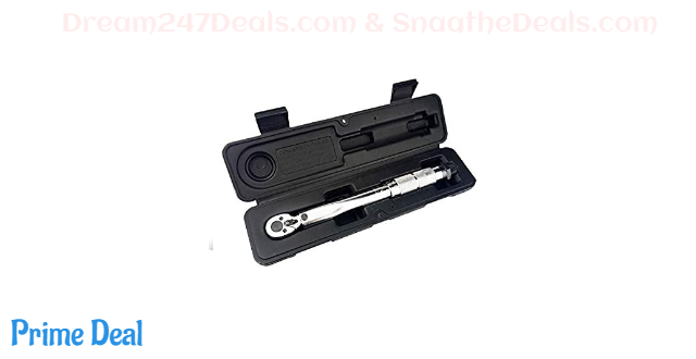"50% OFF 1/4"" or 1/2"" Click Torque Wrench"