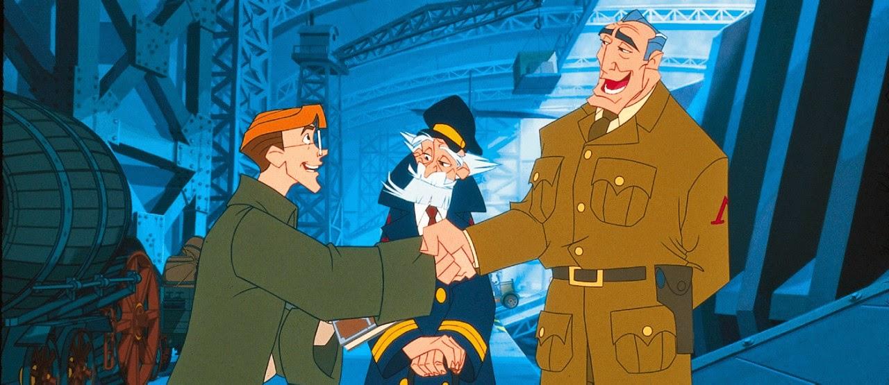 Disneys Atlantis The Villains: AuthorQuest: Analyzing The Disney Villains: Rourke