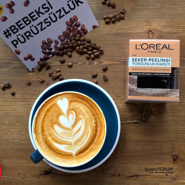 loreal paris yorgunluk karşıtı şeker peelingi kahve incelemesi 2