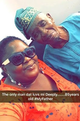 eniola badmus father photo