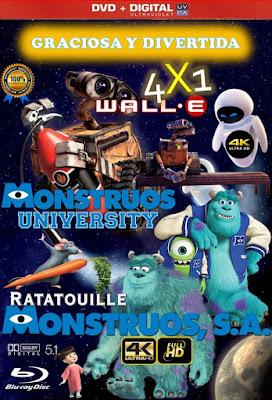 Graciosa Y Divertida 4X1 COMBO HD DVD LATINO 5.1