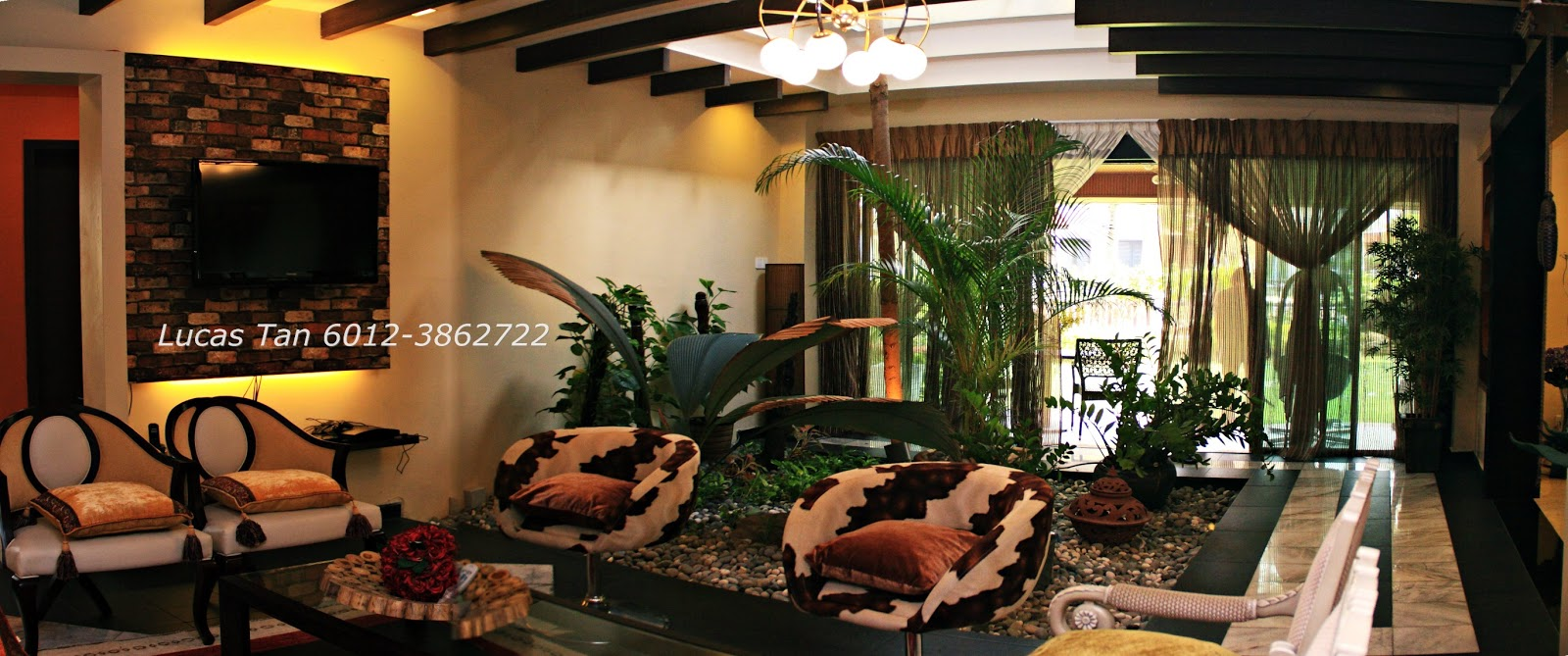 Malaysia property review & real estate agent, LucasPropertySale ... - Indoor Garden Living Room