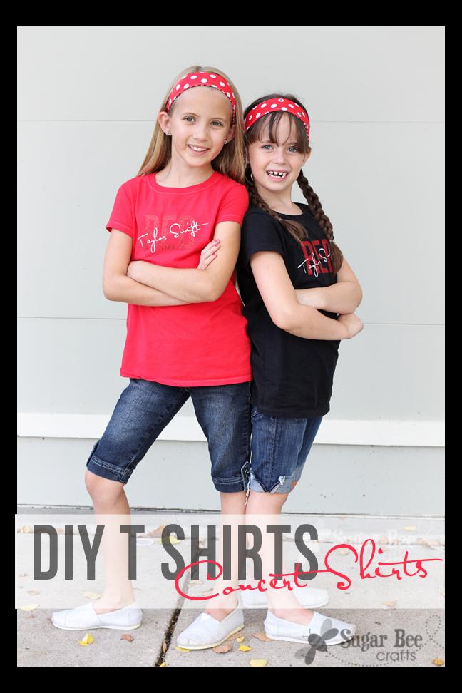 Diy Concert T Shirts Sugar Bee Crafts