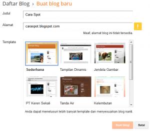 Apa itu blog dan bagaimana cara membuat blog? ini dia cara buat blogger untuk pemula