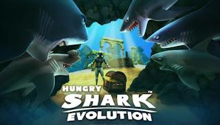 Hungry Shark Evolution Mod Apk Coins/Gems Terbaru