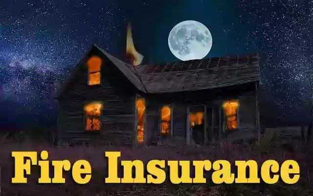 What does a fire insurance policy cover