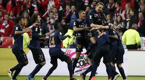 PSG là ông vua của các giải quốc nội Pháp hiện nay
