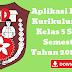 Aplikasi Raport Kurikulum 2013 Kelas 5 SD/MI Semester 1 Tahun 2018/2019 - Ruang Lingkup Guru
