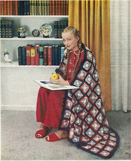 Vintage Americana Crochet Afghan Pattern