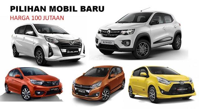 Pilihan Mobil Baru 100 juta