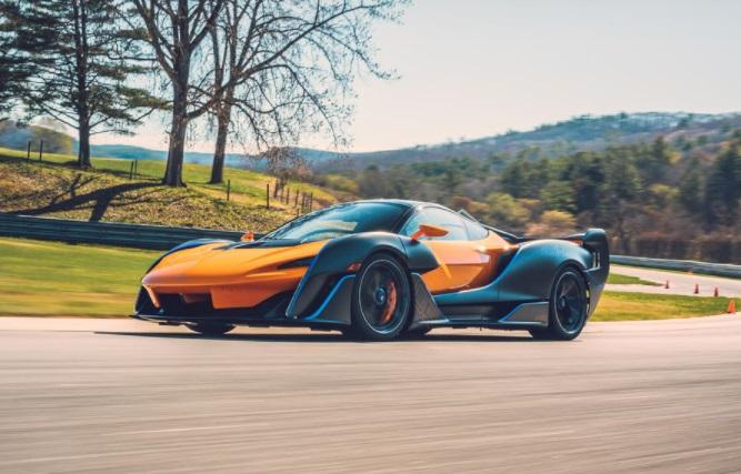 Desain Aero  McLaren Sabre