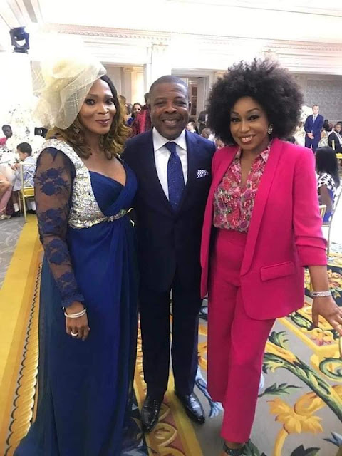 SEE PHOTOS: Aliko Dangote, Femi Otedola, Tony Elumelu, Bola Shagaya, Gov Ihedioha, Others At Billionaire Son, Eyinna Anumudu's Wedding In Paris