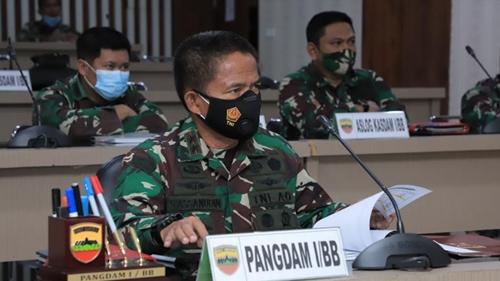 Kodam I/BB Siapkan Vaksinasi Covid-19 Bagi Purnawirawan dan Warakawuri