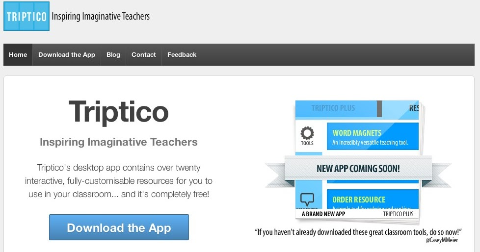 New look for Triptico