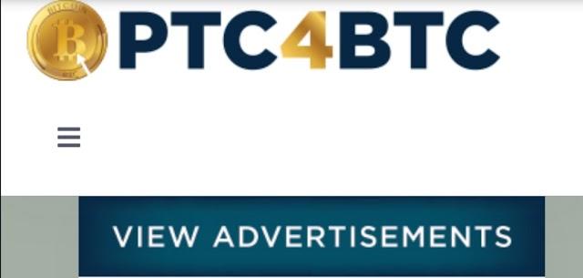 Ptc4btc website থেকে Faucet Claim, PTC And Shortlinks করে ইনকাম করুন