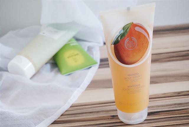 Sommer Körperpflege The Body Shop Body Sorbet Mango
