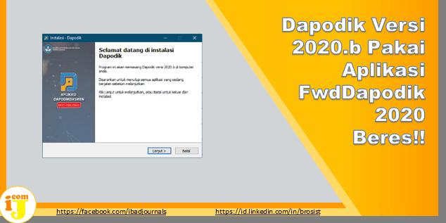 Dapodik Versi 2020.b