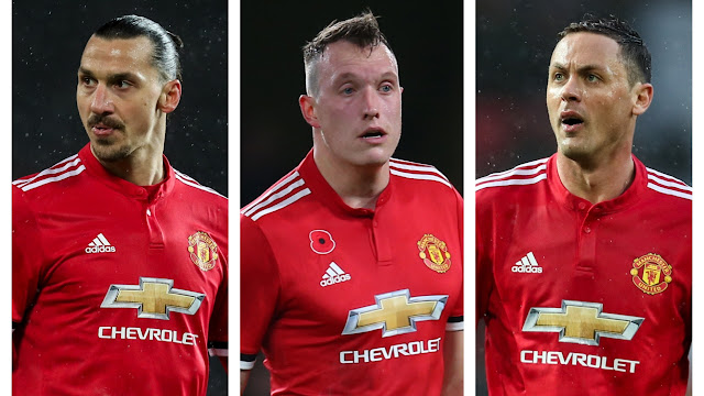 Nemanja Matic, Zlatan Ibrahimovic, and Phil Jones are available for Sunday's Manchester United match