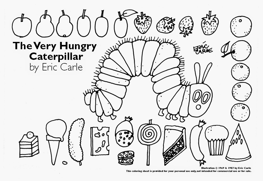 caterpilla coloring pages - photo#38
