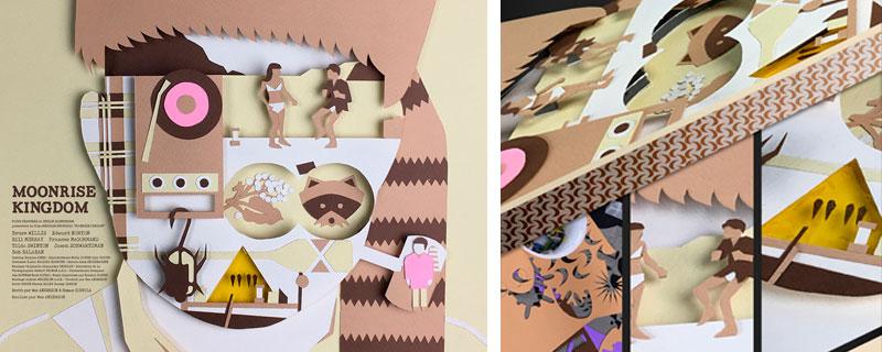 Cultraits, películas plasmadas en recortes de papel