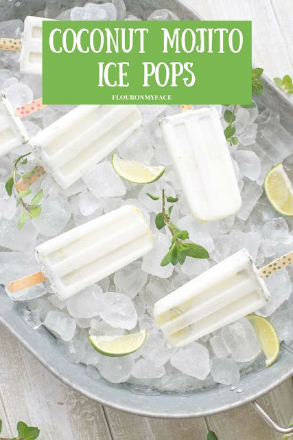 Coconut Mojito Popsicle Recipe