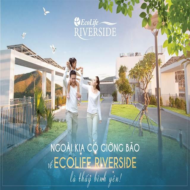 Về tới căn hộ Ecolife Riverside là thấy bình yên