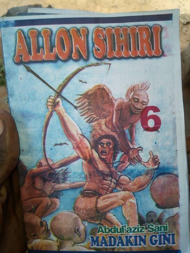 Allon Sihiri Littafi Na 1 Advanture Novel
